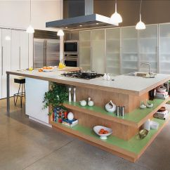 Islands For The Kitchen Cabinets Color Trendy Display 50 With Open Shelving View In Gallery Fabulous Island Shelves Formica Laminate Worktop And Ergonomic Prep Zone