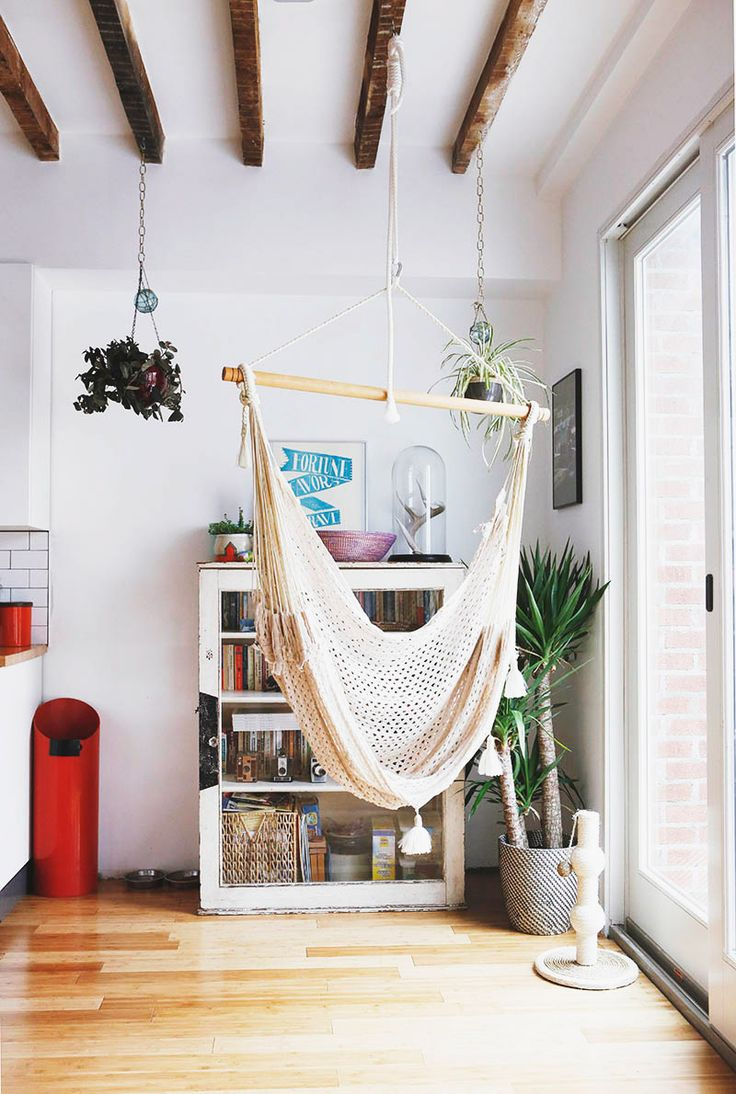 hanging chair big w lift chairs for elderly 18 indoor hammocks to take a relaxing snooze in any time