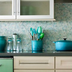 Mosaic Backsplash Kitchen Commercial Supplies 18 Gleaming Designs Light Blue And Turquoise Tile
