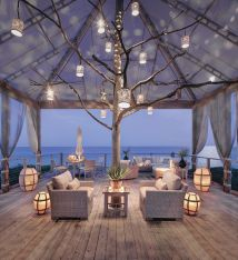 Dreamy Beach-style Decks Relaxing Staycation
