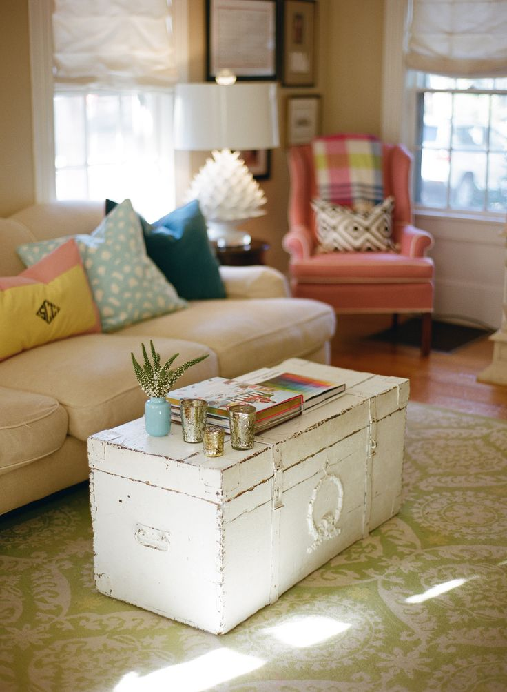 trunk coffee table living room furniture furnitures in nigeria 16 old trunks turned tables that bring extra storage and worn white shabby chic