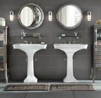 Porthole-style medicine cabinets from Restoration Hardware ...