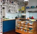 Wallpaper kitchen design ideas eclectic of smartphone full hd pics repurposed haberdashery cabinet turned into a island trendy eclectic that serve up personalized style
