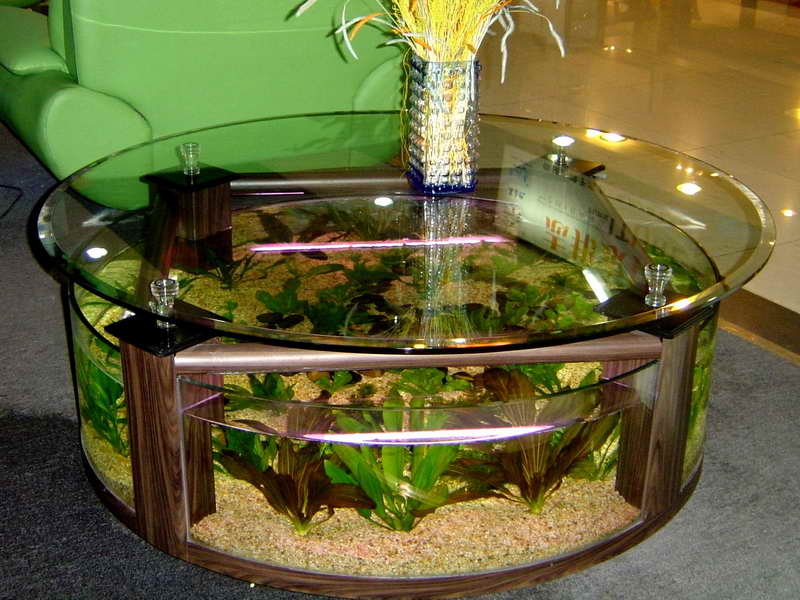how do you decorate a rectangular living room furniture oak effect 8 extremely interesting places to put an aquarium in your home