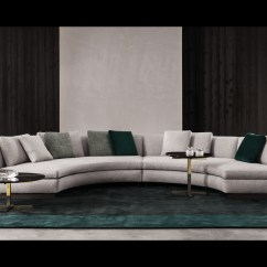 Curved Sectional Sofa Leather Stickley Craigslist 20 Modish Minotti Sofas And Seating Systems
