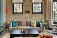 100 Brick Wall Living Rooms That Inspire Your Design ...