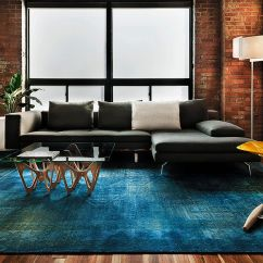 Light Grey Sofa With Dark Carpet Bed Sale 100 Brick Wall Living Rooms That Inspire Your Design Creativity Contemporary Space Rug In Copper Blue And Plush Gray From