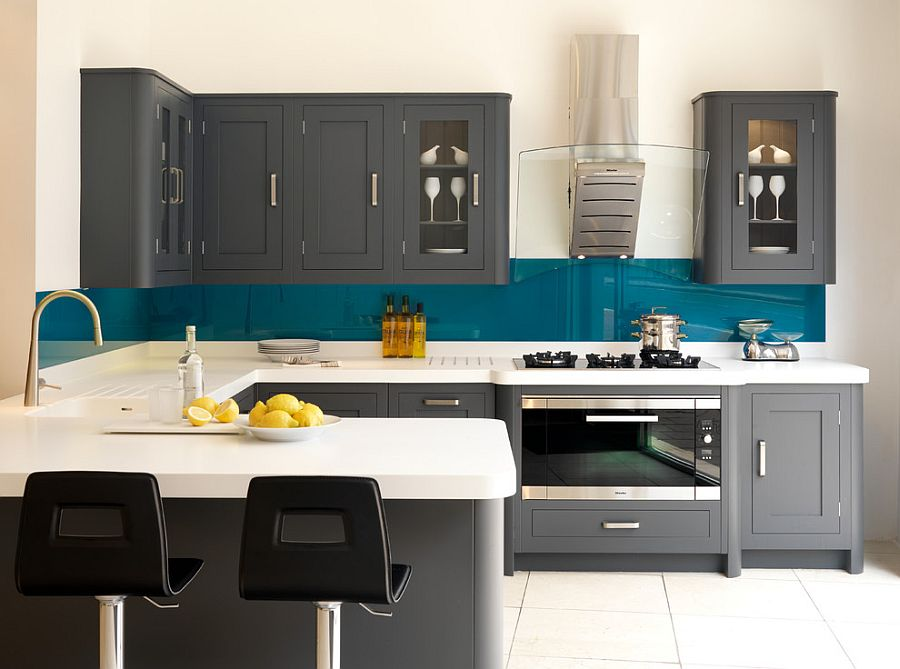 Gray And Teal Kitchen Ideas Novocom Top