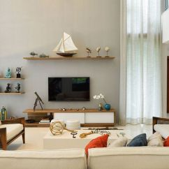 Ideas For Modern Living Room Curtains Bungalow Style Beach House: Reinventing The Nautical Theme With ...