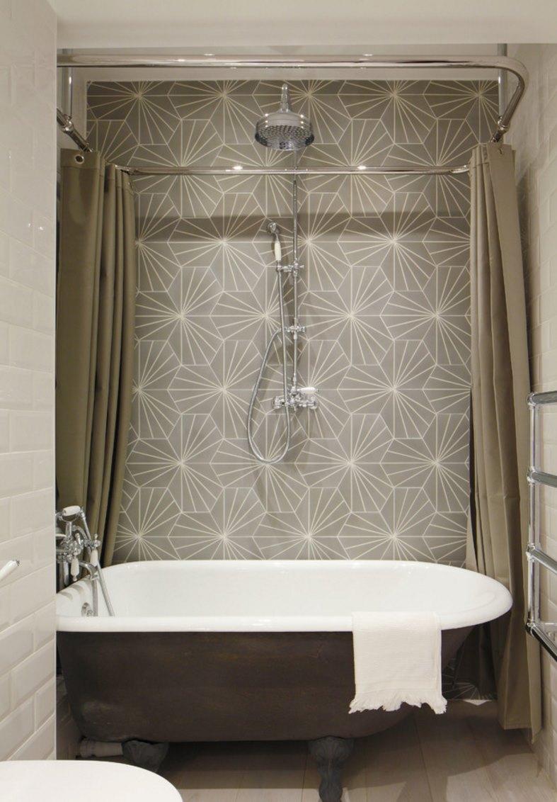 Elegant High End Shower Curtains