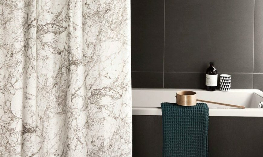 luxury shower curtains to style a