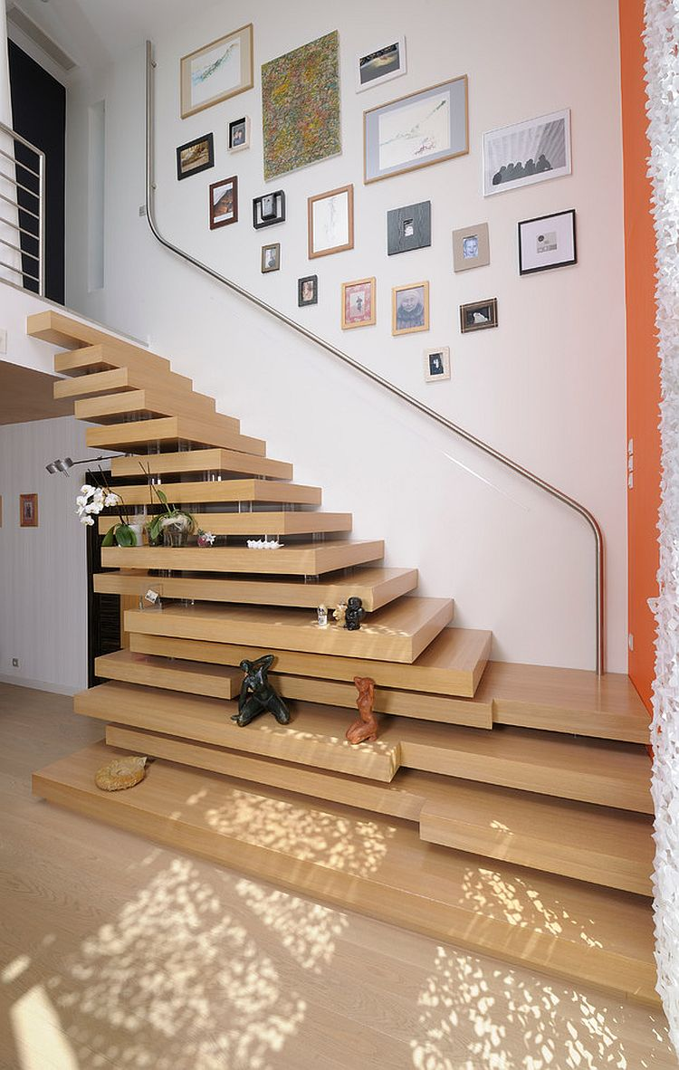 21 Unique Contemporary Staircases With A Flair For The