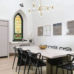 Lighting Ideas For Living Room High Ceiling Grey Yellow Accessories Chicago Church Converted Into A Soaring Single-family Home