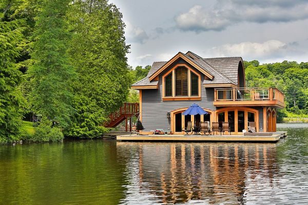 rosseau retreat rustic lakeside