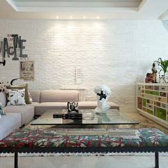 White Wall Decorations Living Room Old House Designs 100 Brick Rooms That Inspire Your Design Creativity Is A Favorite Among Contemporary Homeowners Looking For Textural Contrast