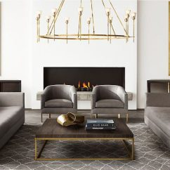 Furniture Placement In A Rectangular Living Room Pictures For Uk New Brass And Decor From Rh Modern
