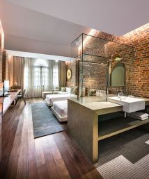 Rustic Modern Boutique Hotel Room - Year of Clean Water