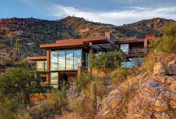 mountain home with scenic views