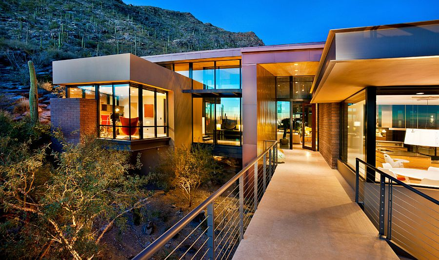 Solar Panels and EcoSensitive Design Create Smart Home in