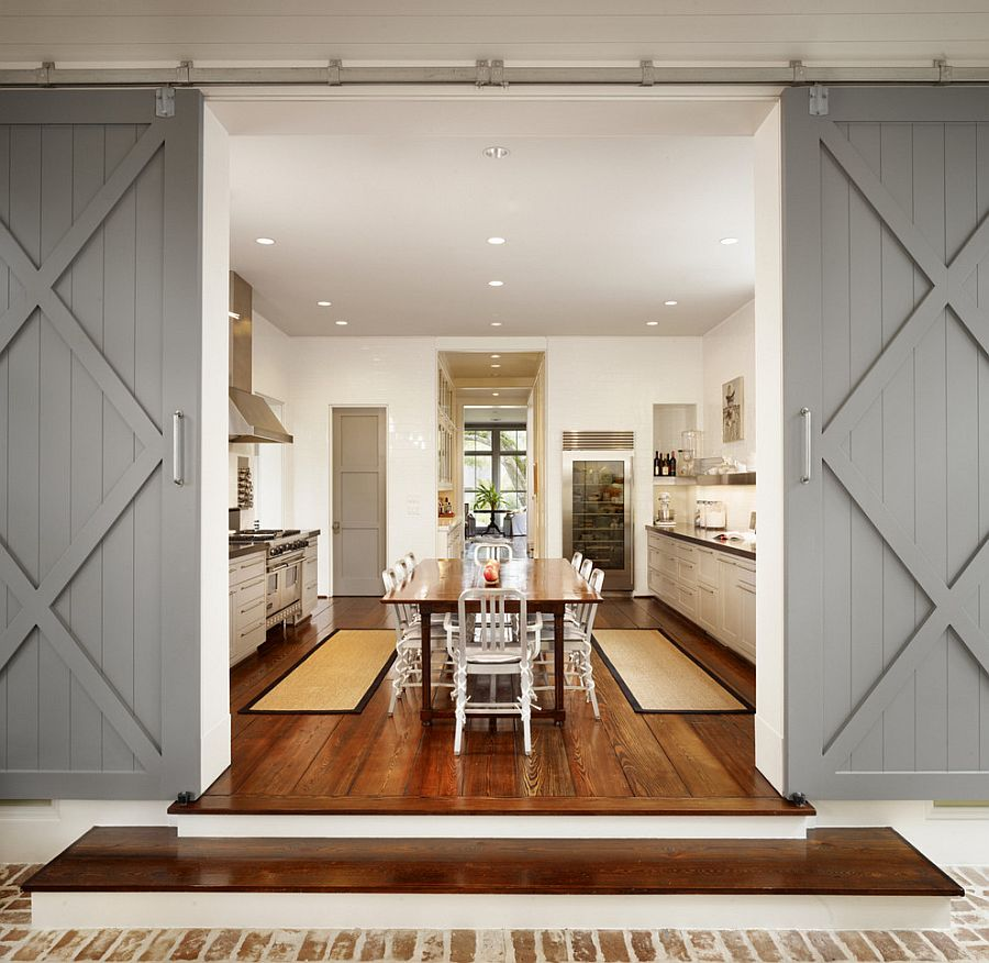 Modern Kitchen Entrance Doors
