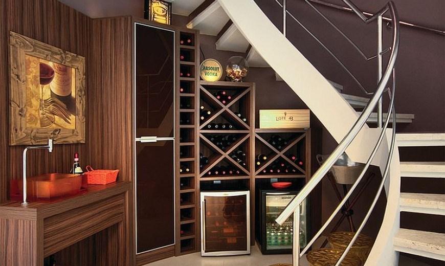 20 Eye Catching Under Stairs Wine Storage Ideas | Bar Under The Stairs Design | Escalera | Kitchen | Storage | Basement Remodeling | Attic Stairs