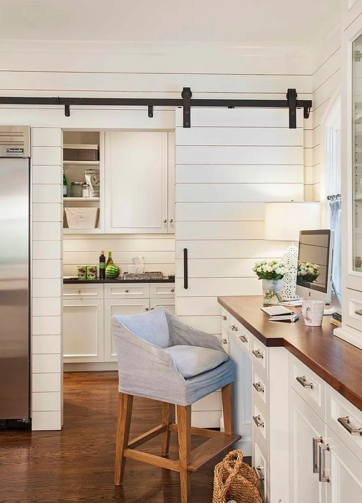 Kitchen Cabinets: Design Of Kitchen Entrance. Photos Design Of Kitchen Entrance Mobile Hd Pics Trendy That Unleash The Allure Sliding Barn Doors And Home Office Rolled Into One