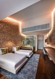 Modern Hotel Room Interior Design