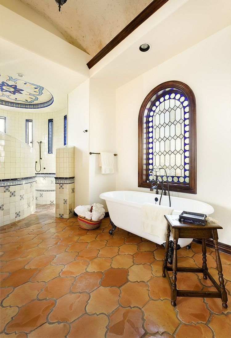 rustic beauty of terracotta tiles