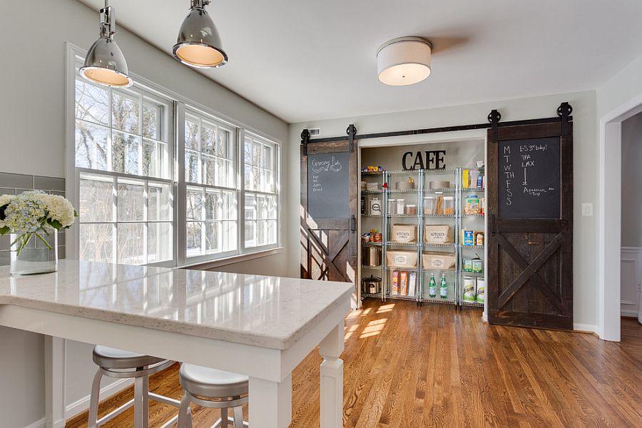 Sliding Door Design Kitchen