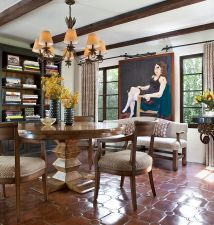 Spanish Colonial Dining Room Interior Design