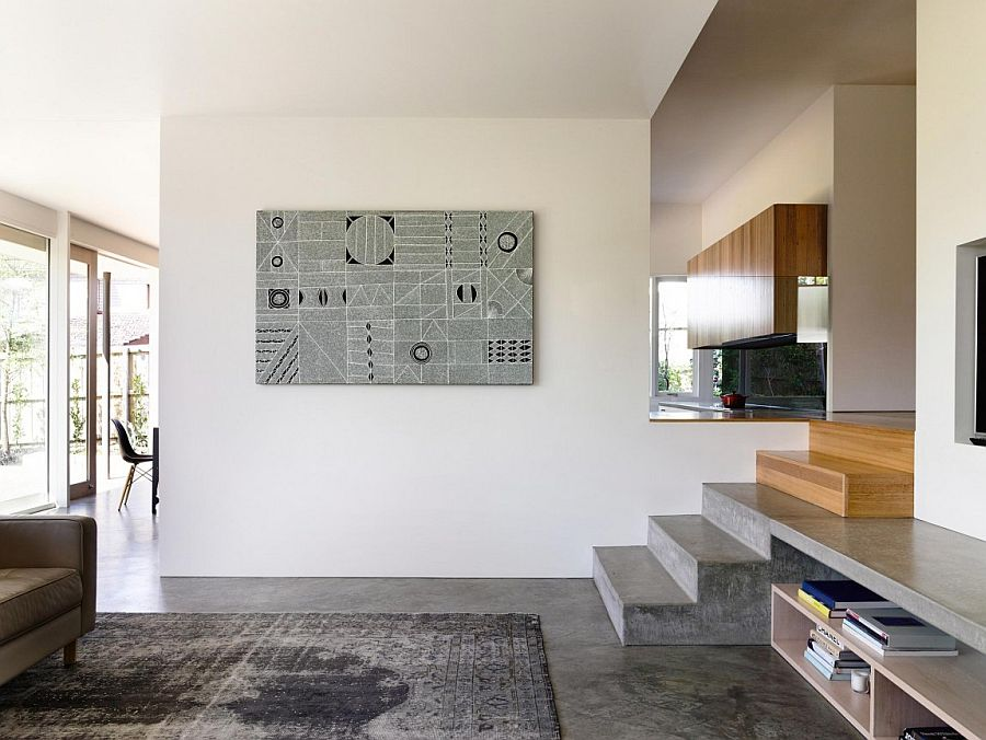 design ideas long narrow living room rugs home goods wavy modern extension enlivens 1920s californian bungalow ...