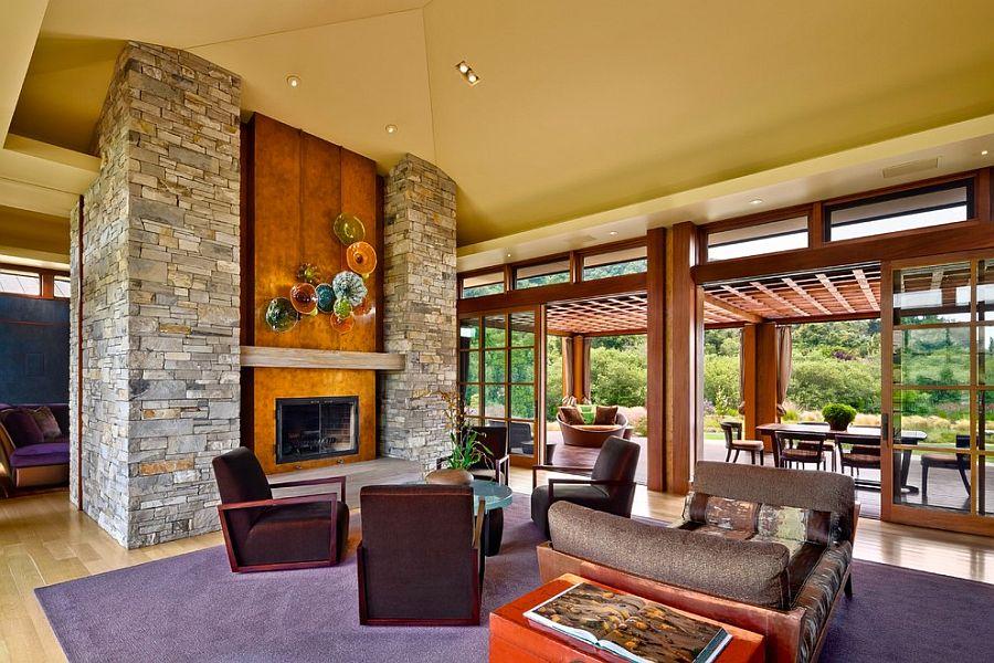 Eckford Residence Modern Comfort Merged with an Idyllic