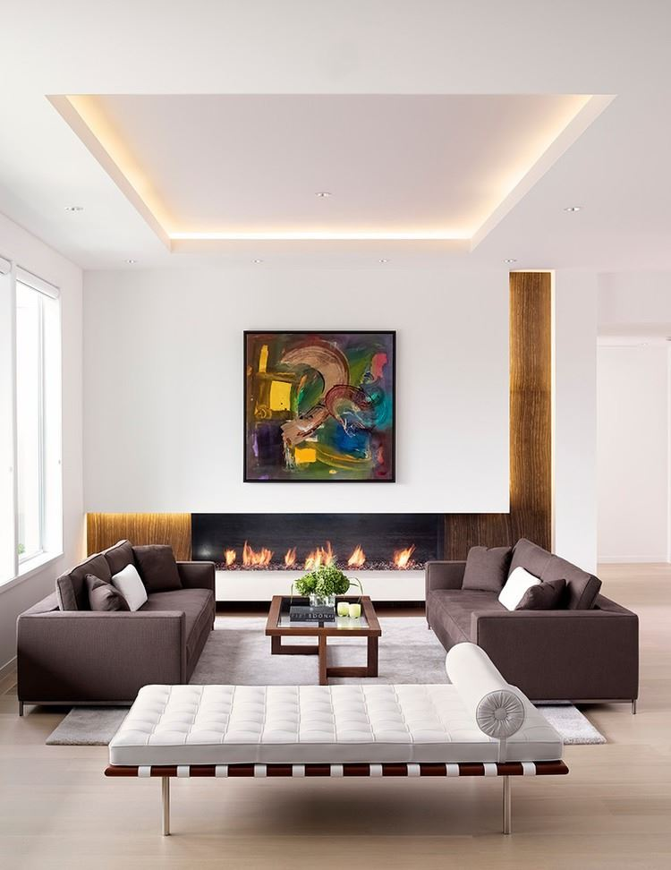 Design Ideas for a Recessed Ceiling