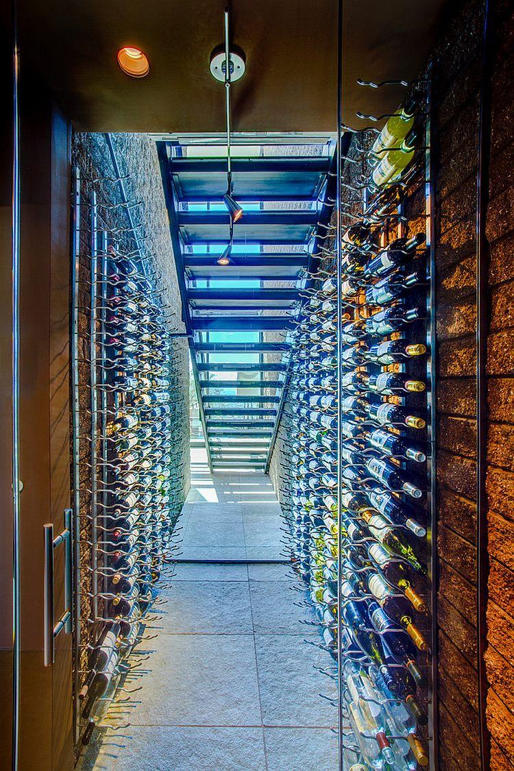 20 EyeCatching Under Stairs Wine Storage Ideas