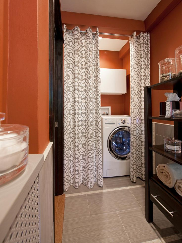 15 Laundry Spaces That Cleverly Conceal Their Unsightly