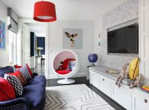 A Perfect Blend: Combing the Playroom and Guestroom in Style