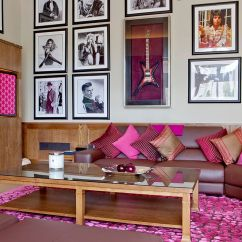 Pillow Ideas For Leather Sofa Clearance Warehouse London 20 Classy And Cheerful Pink Living Rooms