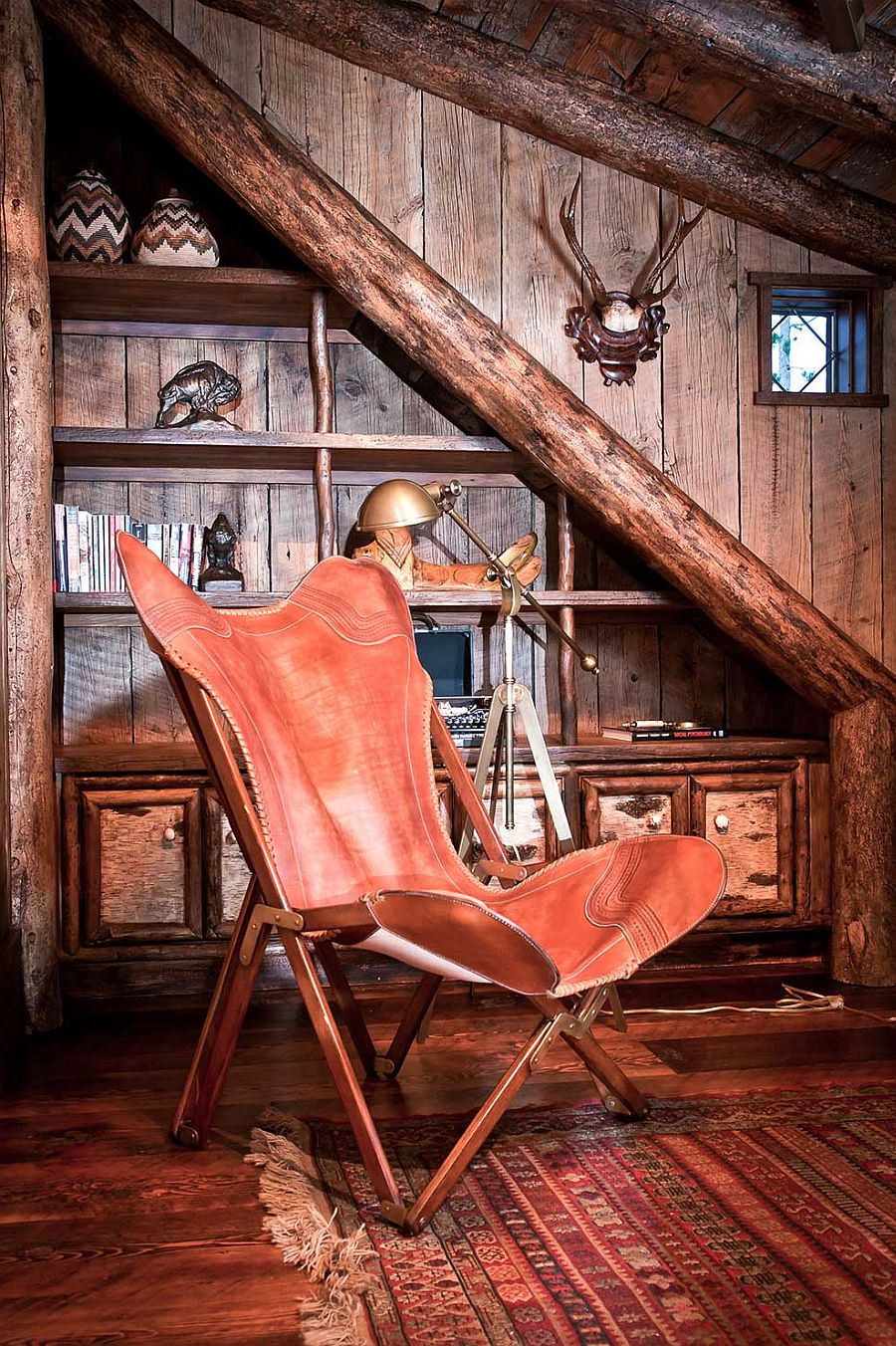 comfortable reading chair small space target chairs folding dancing hearts: picture-perfect hillside escape in montana!