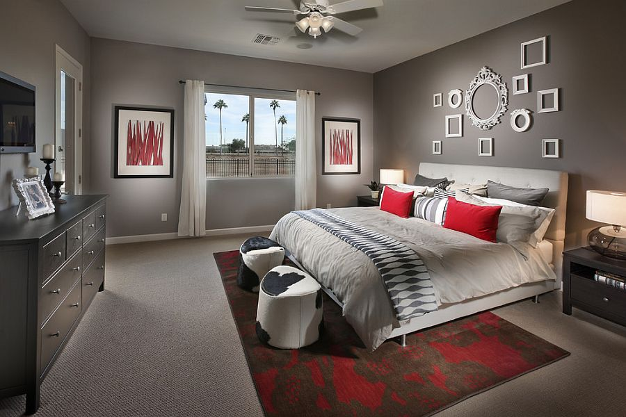 cool bedroom wall decorating ideas