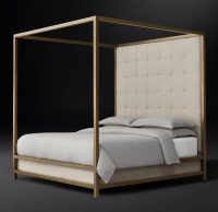 Four Post Bed With Canopy & Wooden Canopy Bed Frame ...