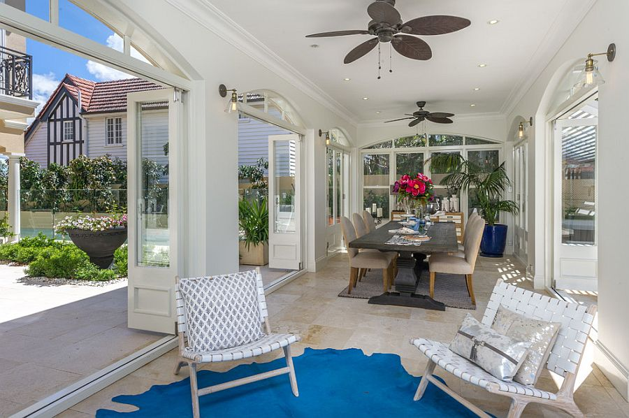 Embracing Warmth 25 Mediterranean Inspired Sunrooms For A Cozy Staycation