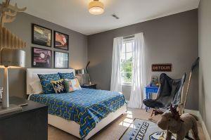 gray bedroom cool bedrooms backdrop theme allows easily versatile fun charm gorgeous decoist
