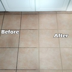 Cleaning Kitchen Floors Island Corbels Does Grout With Baking Soda And Vinegar Really Work View In Gallery Sealing Can Make A Big Difference