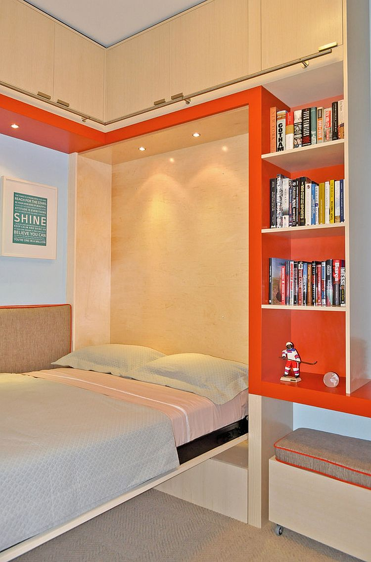 sofa murphy bed combination hide a mattress perfect blend: combing the playroom and guestroom in style