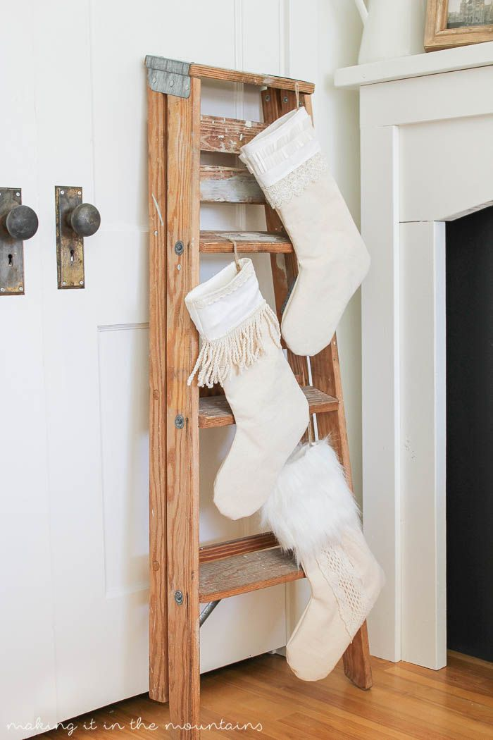 8 Festive Ways To Hang Stockings When You Dont Have A