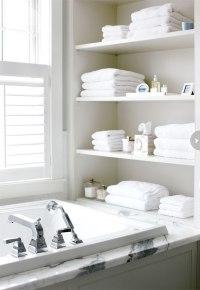 30 Fantastic Bathroom Racks And Shelves | eyagci.com
