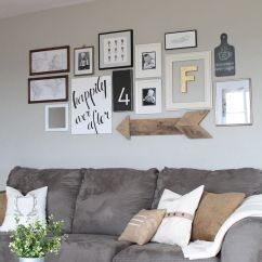 Wall Decorations For Living Room Dining With 15 Striking Ways To Decorate Arrows View In Gallery Rustic Wooden Arrow Combined Other Art Pieces