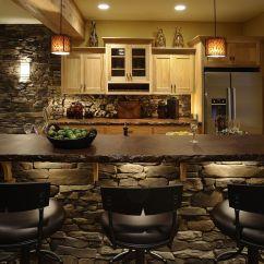 Kitchen Stone Refurbished Cabinets 30 Inventive Kitchens With Walls