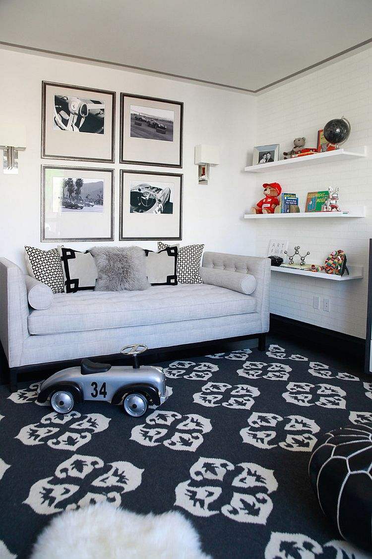 furniture sofa designs doctor kettering a perfect blend: combing the playroom and guestroom in style