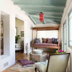 Sunroom Living Room Wall Colors Ideas Embracing Warmth 25 Mediterranean Inspired Sunrooms For A Cozy Spanish Colonial Influences Dominate This Breezy Design Charmean Neithart Interiors